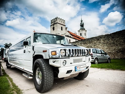 Limuzyna Hummer White